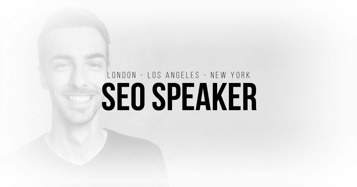 SEO Keynote Speaker London, LA, NY & more: Search engine optimization