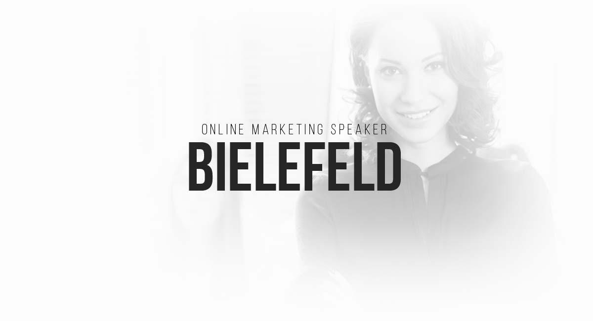 Online Marketing Speaker Bielefeld: Werbung, Content Planungen, Blogger, Suchmaschinenoptimierung und Targeting
