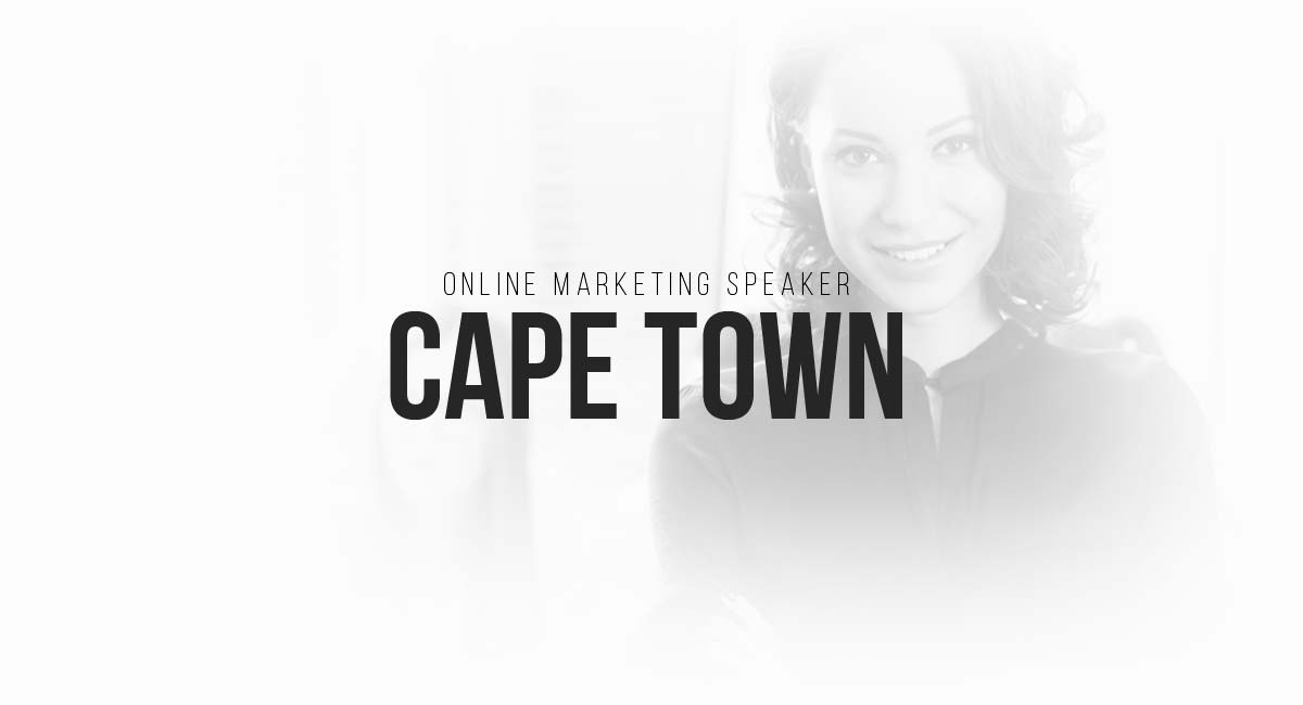 Online Marketing Speaker Cape Town: Social, Influencer, Online Commercials, Informative Blog and Content Ideas