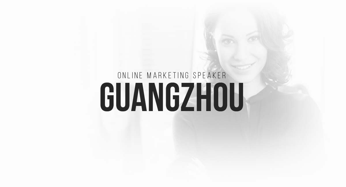 Online Marketing Speaker Guangzhou: E-Commerce Newsletter Funnel, Blogsystem, Search Engine Optimization / SEA, Blog, A-B Testing, Content Planning and Tracking