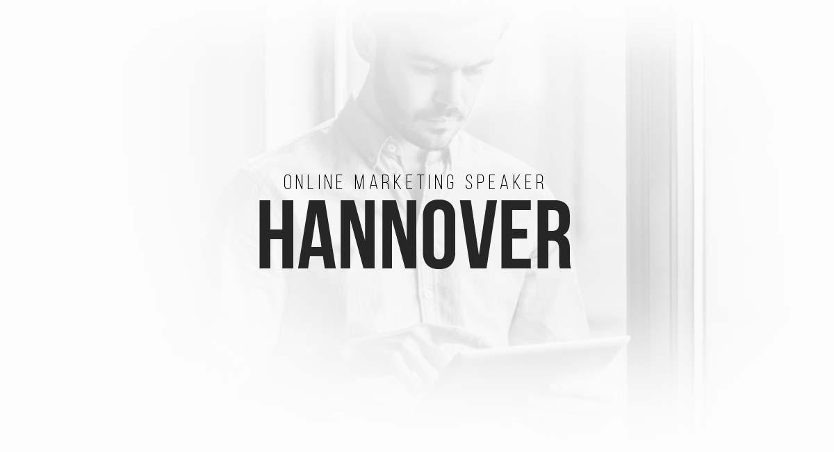 Online Marketing Speaker Hannover: E-Commerce Newsletter, Blogs, SEO, Interesting Blogs, Content Planning and Live Tracking