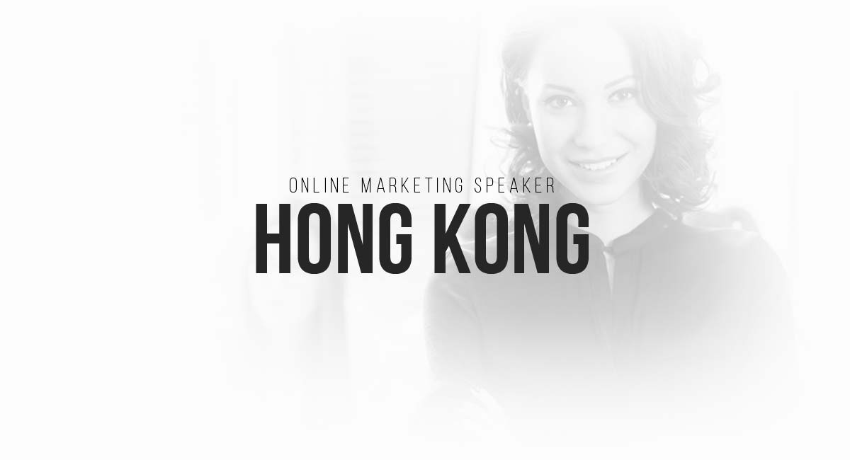 Online Marketing Speaker Hong Kong: SEO, Magazine PR, Influencer, Targeting and Newsletter