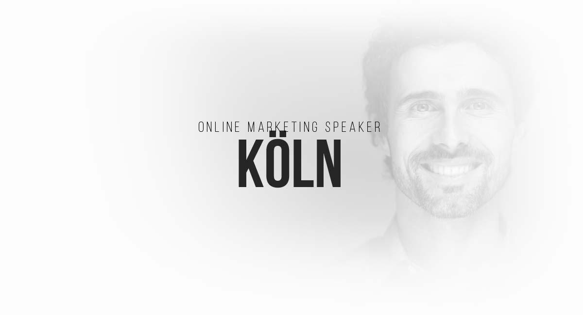 Online Marketing Speaker Köln: SEO, interessante Blogs, digitale Werbeanzeigen, E-Commerce Newsletter, Influencer und Magazin PR