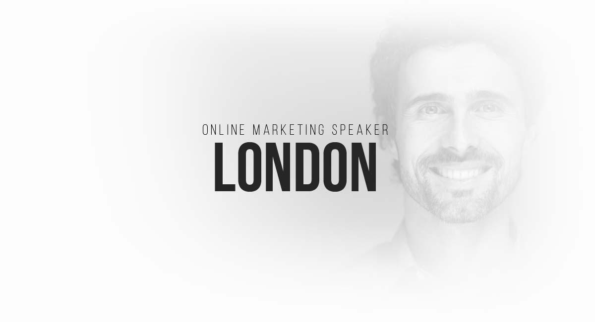 Online Marketing Speaker London: digital commercials, content strategies, blogger, SEO and targeting
